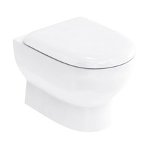 Britton Compact Wall Hung WC with Soft Close Seat