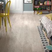ClickLux Click-Fit Luxury Vinyl Tiles Silver Birch 178x1219mm