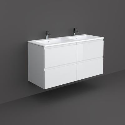 Joy 1200mm Wall Hung Basin Unit with Basin Pure White