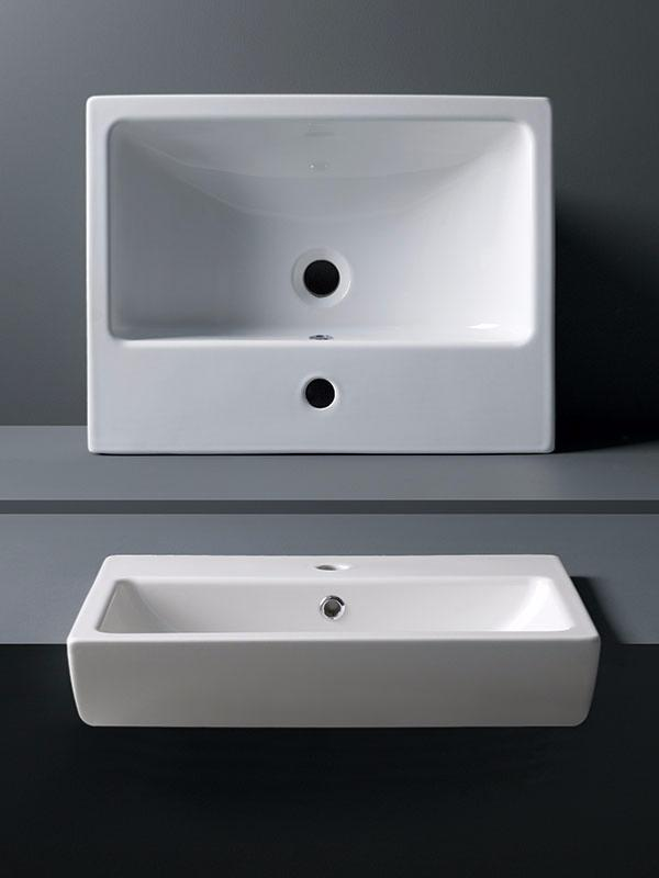 Calypso Charlotte Semi Recessed Basin Tiles Ahead