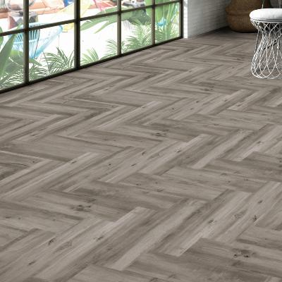 Ribera Grey Wash  Wood Effect Porcelain Tile   15x60cm