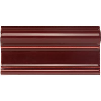 Original Style Artworks Victoria Moulding  Burgundy 7.5x15.2cm