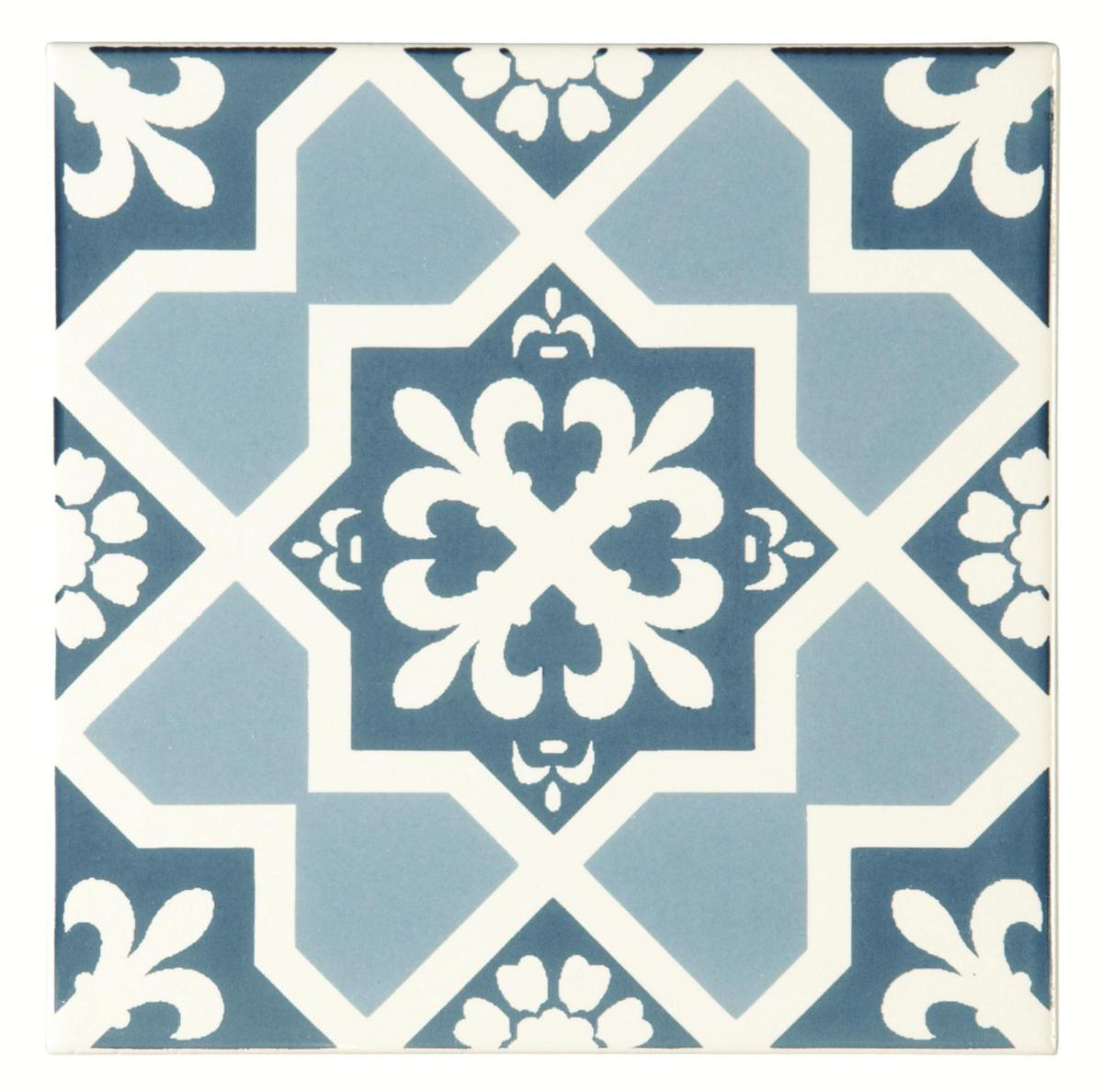 Original Style Odyssey Blue Tapestry Collection Set Of 12