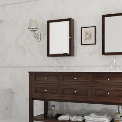 Sublime White Marble Effect Wall Tile 25x40cm