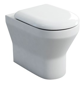 Britton Curve S30 Back to Wall WC with Soft Close Seat