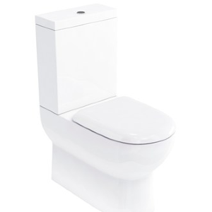 Britton Compact Close Coupled WC with Soft Close Seat