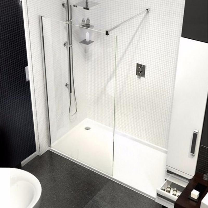 Kudos Ultimate 2 Recess 8mm Glass Walk-In Shower Enclosure Package ...