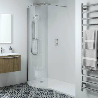 Phoenix Techno 10mm P-Shape Recess LH Shower Enclosure