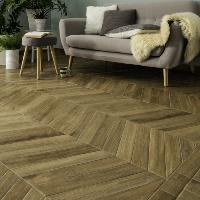 Chevron Vintage Dore Angle Wall and Floor Tile 7.5x45cm