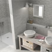 Concept Grey Ceramic Wall Tile 25x70cm