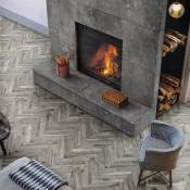Rondine Living Tortora Wood Effect Porcelain Tile 7.5x45cm