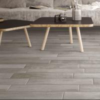 Chevron Vintage Grey Wall and Floor Tile 7.5x45cm