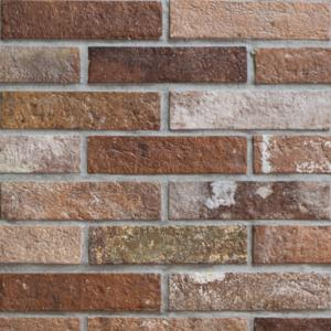 Bristol Red Brick Effect Wall and Floor Tile 6x25cm