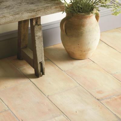 Original Style Earthworks Hand Made Terracotta Floor Tiles 36x22cm