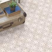 Laura Ashley Mr Jones Beige Floor Tile 33.1x33.1cm