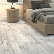 Kielder Light Grey Wood Effect Porcelain Tile 15x90cm
