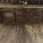 Rondine Salvage Brown Wood Effect Porcelain Tile 15x100cm