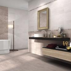 Distant Contemporary Style Bathroom Tiles