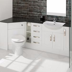 white gloss bathroom furniture calypso chiltern fitted bathroom furniture tiles ahead 21539