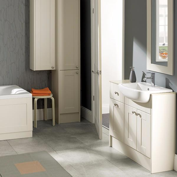 New Calypso Fitted Bathroom Furniture  Cannadines