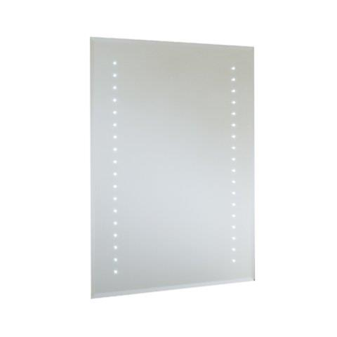 RAK Rubens 800 x 600mm LED Mirror with Demister and Shaver Socket