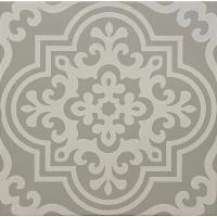 Original Style Odyssey  Grande Vogue White on Grey Tile 29.8x29.8cm