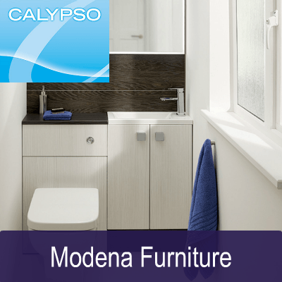 Calypso modern fitted bathroom furniture