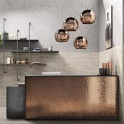 Skyline Copper Wall Tile 250x60mm