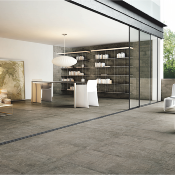 Pavestone Anthracite Outdoor Porcelain Slab Tile 60x60cm