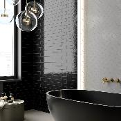 Skyline Black Wall Tile 250x60mm