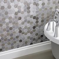 Premium Hexagon Coffee Wall and Floor Mosaic 30x30cm