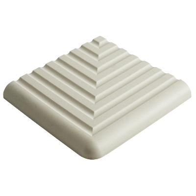 Dorset Step Tread Corner White Quarry Tile 10x10cm
