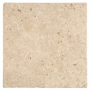 Original Style Earthworks Levantine Ivory Unfilled Tumbled Travertine 10x20cm