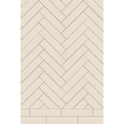 Original Style Victorian Whitby Chevron Pattern