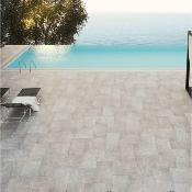 Bassia Pearl Anti Slip Outdoor Tile 600x400mm