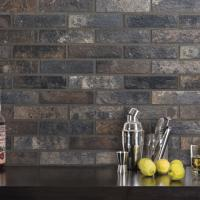 Bristol Dark Wall and Floor Tile 6x25cm