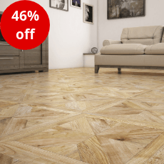 Buckingham Parquet Wood Effect Porcelain