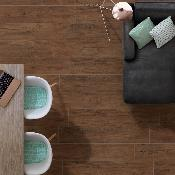 Earth Wood Effect Porcelain Tiles