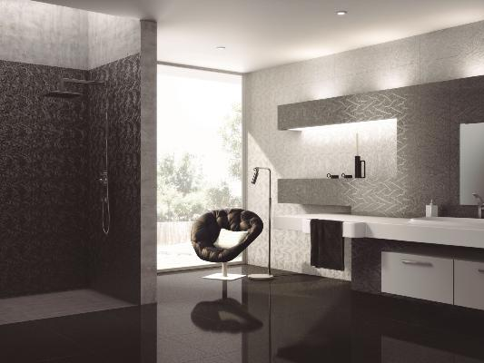 Yurtbay Strauss Black Wall and Floor Tile 30x60cm