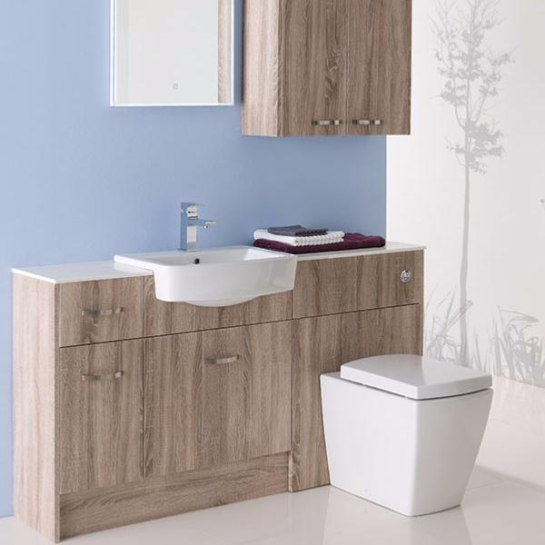 Beautiful  Bathroom Fitted Furniture Set Anthracite Buy Online At Bathroom City