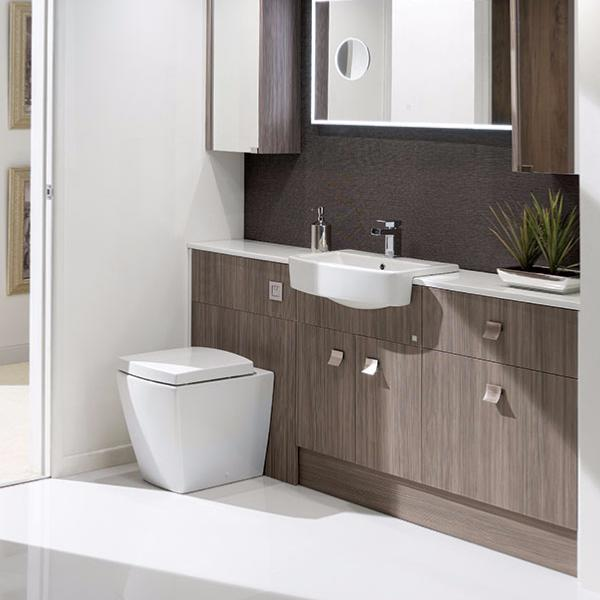 Simple Calypso Chiltern Fitted Bathroom Furniture  Tiles Ahead