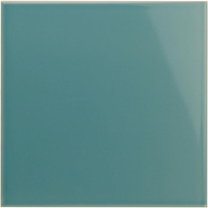 Original Style Artworks Field Tile Aqua Source Gloss 15.2x15.2cm