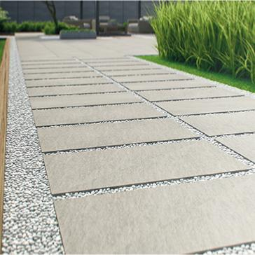 Krakow Medium Beige Outdoor Porcelain Tile 60x60cm