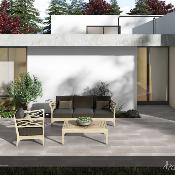 Camous Light Grey Anti Slip Outdoor Tile 600x400mm