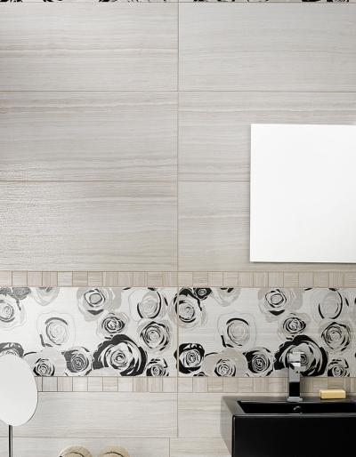Eramosa White Wall and Floor Tile 30.5x60.5cm