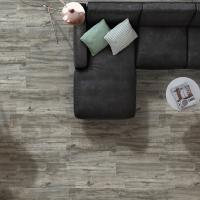 Wild Grey Wood Effect Porcelain Wall And Floor Tile 15x58cm