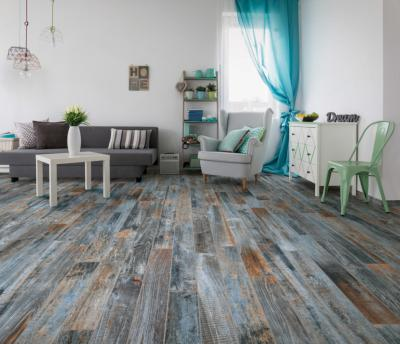 Outwood Blue Blend Wall and Floor Tile 15x100cm
