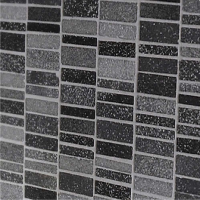 Costello Black/Grey Wall and Floor Mosaic 30x30cm