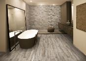 Rondine Living Marrone Wall and Floor Tile 7.5x45cm