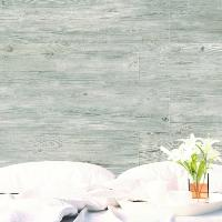 Earth Grey Wash Wood Effect Porcelain Wall and Floor Tile 23x120cm